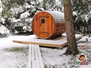 RW Saunas Barrel Sauna