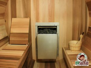 RW Saunas Wood Fired Heater